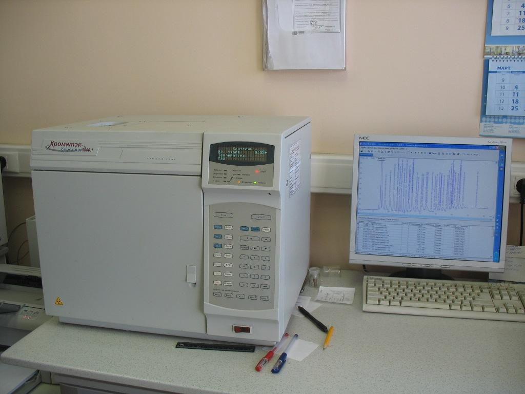 газовый хроматограф фирмы «Хроматэк»