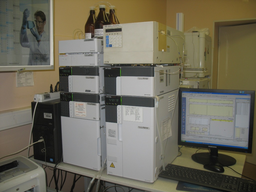 жидкостный хроматограф «Waters»