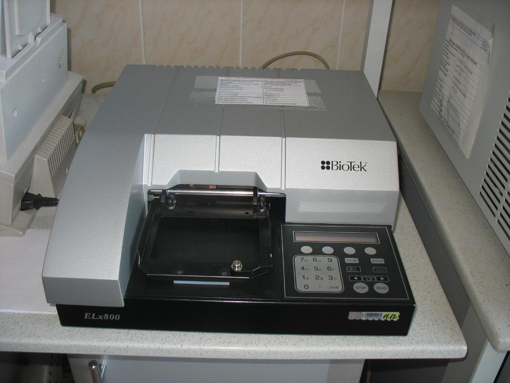 автоматический фотометр ELx800